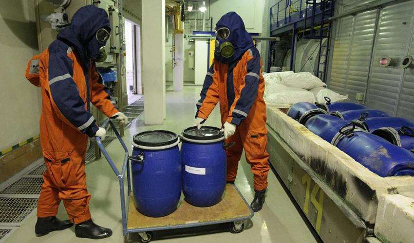 Обезвреживание токсичных отходов