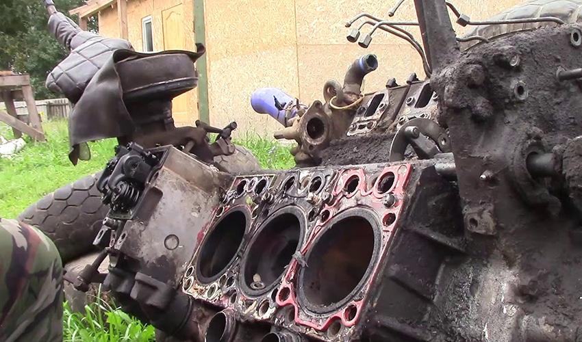 Утилизация двигателей